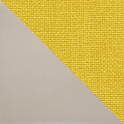 Капучино матовый / Желтый микровелюр
