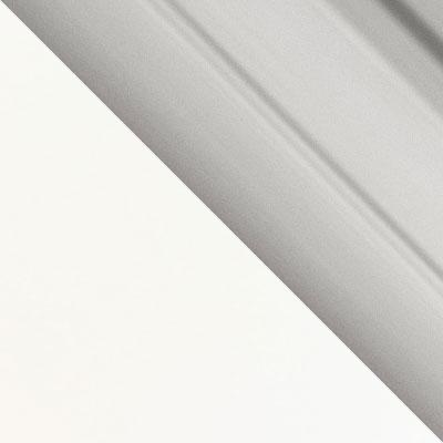 Белый каркас / Серебро профиль