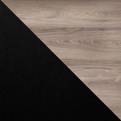 Скания натуральная / Черный, металл