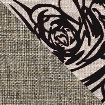 Модерн Эскада, рогожка / Розы, рогожка