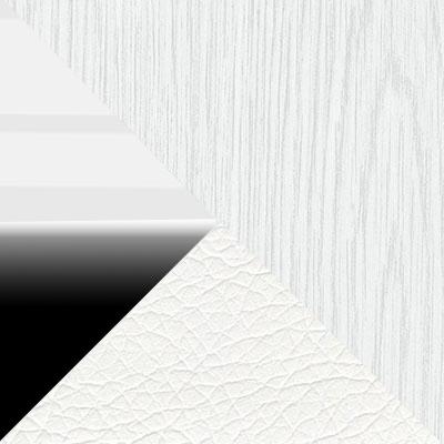 Белый ясень / Белый глянец / Черный глянец / Белый, экокожа