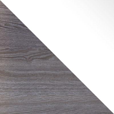Ясень анкор темный / Белый