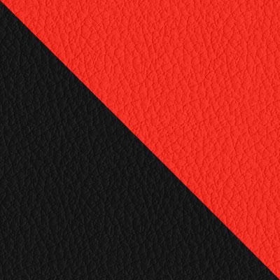 Черная, иск.кожа / Красная, иск.кожа