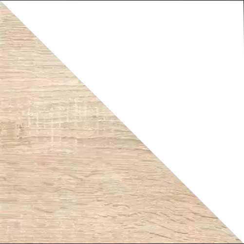Дуб сонома / Белый