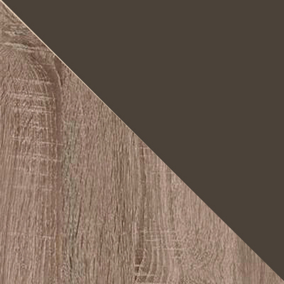 Дуб Сонома трюфель / Кашемир коричневый