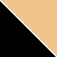 Черный муар / Бежевый