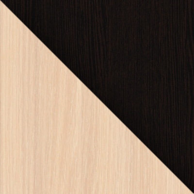 Подстолье Беленый дуб / Столешница, ножки Венге