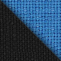 Ткань черная/синяя, 2603/2601
