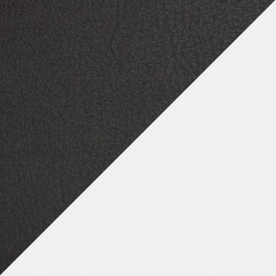Иск.кожа черная / Белая