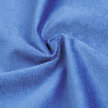 Голубой, велюр