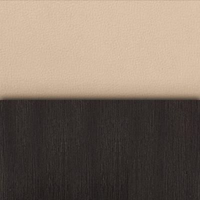 Венге / Бежевый кожзам (кв01)