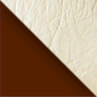 Каркас коричневый / Сиденье бежевый перламутр
