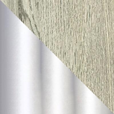 Дуб Навара / Белый мрамор