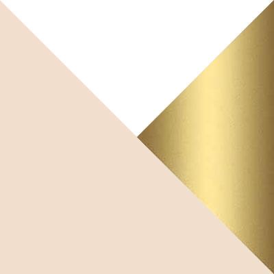 Бело-золотой / Кремовый