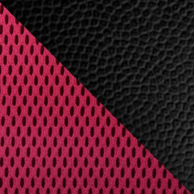 Черный, иск.кожа / Красный, сетка TW