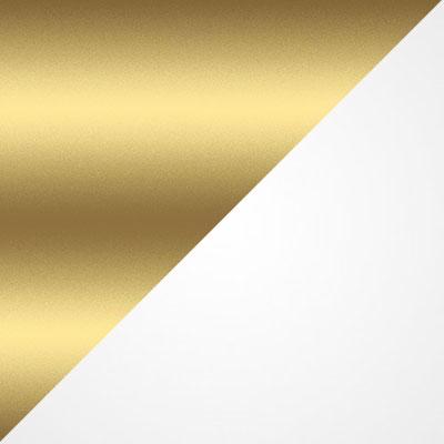 Золото / Белый