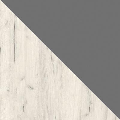 Дуб Белый CRAFT / Серый шифер