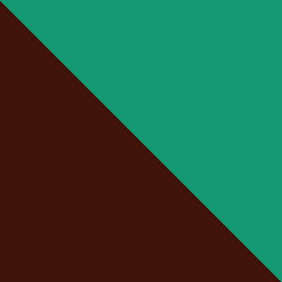 Коричневый / Зеленый