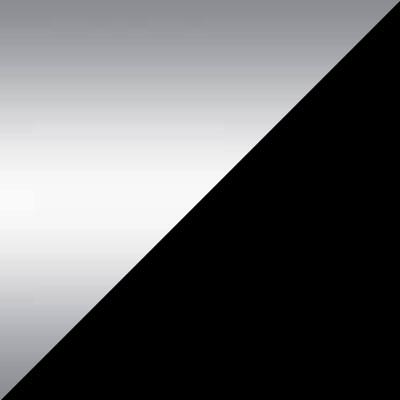 Хром / Черный