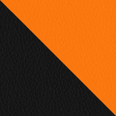 Черный, иск.кожа / Оранжевый, иск.кожа