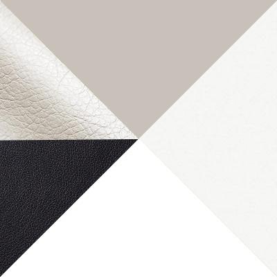 Белый / Батлер 08; Nitro Black; Белый (массив)