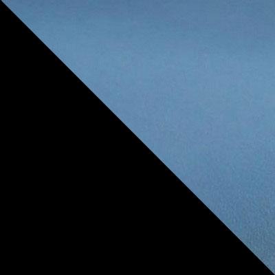 Синий V16, микровелюр / Черный, металл