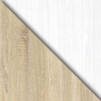 Дуб Сонома / Белый (текстура дерева)