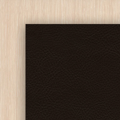 Дуб Белфорт / Коричневая иск.кожа