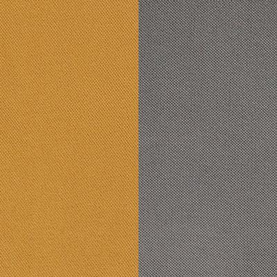 Золотистый / Серый, велюр