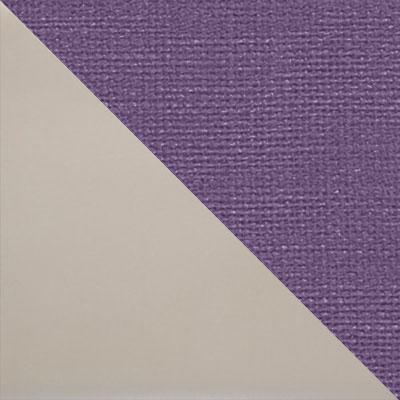 Капучино матовый / Фиолетовый микровелюр