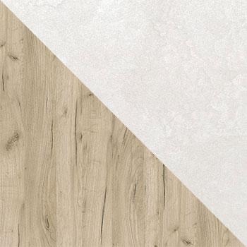 Дуб серый / Шелковый камень
