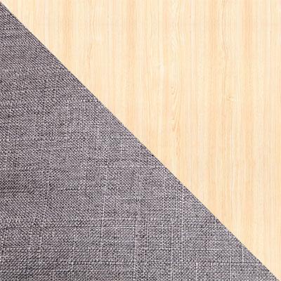 Темно-серый, ткань / Береза