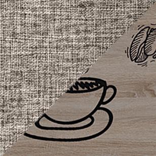 Дуб сонома трюфель / Бежевый, ткань