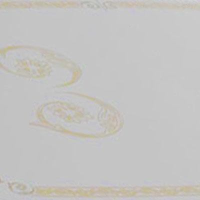 Белый глянец с рисунком (Золото)