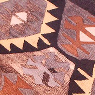 Мехико коричневый, велюр