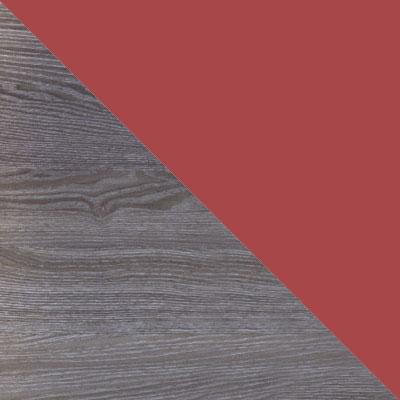 Ясень Анкор темный / Ярко-красный