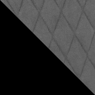 Черный / Серый V11, микровелюр