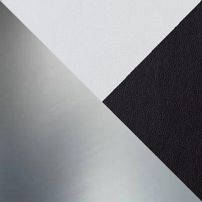 Nitro White, Вставка Nitro Black, иск. кожа / Каркас Нержавеющая сталь
