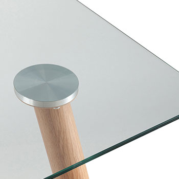 Прозрачное стекло / Металл