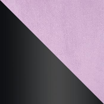 HLR-27 Сиреневый, велюр / Черный матовый