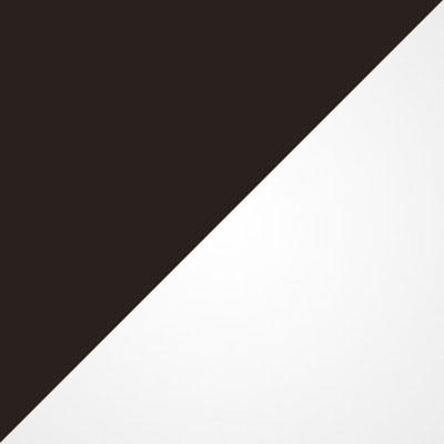 Коричневый / Белый