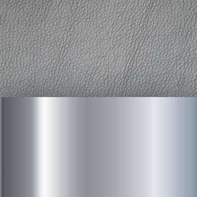 Хром / Иск.кожа серебро