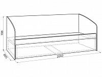 Кровать 500-123992