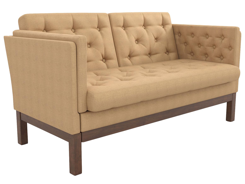 Прямой диван из экокожи 179-112411