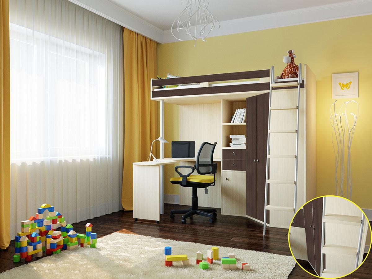 Кровать-чердак 150-103087