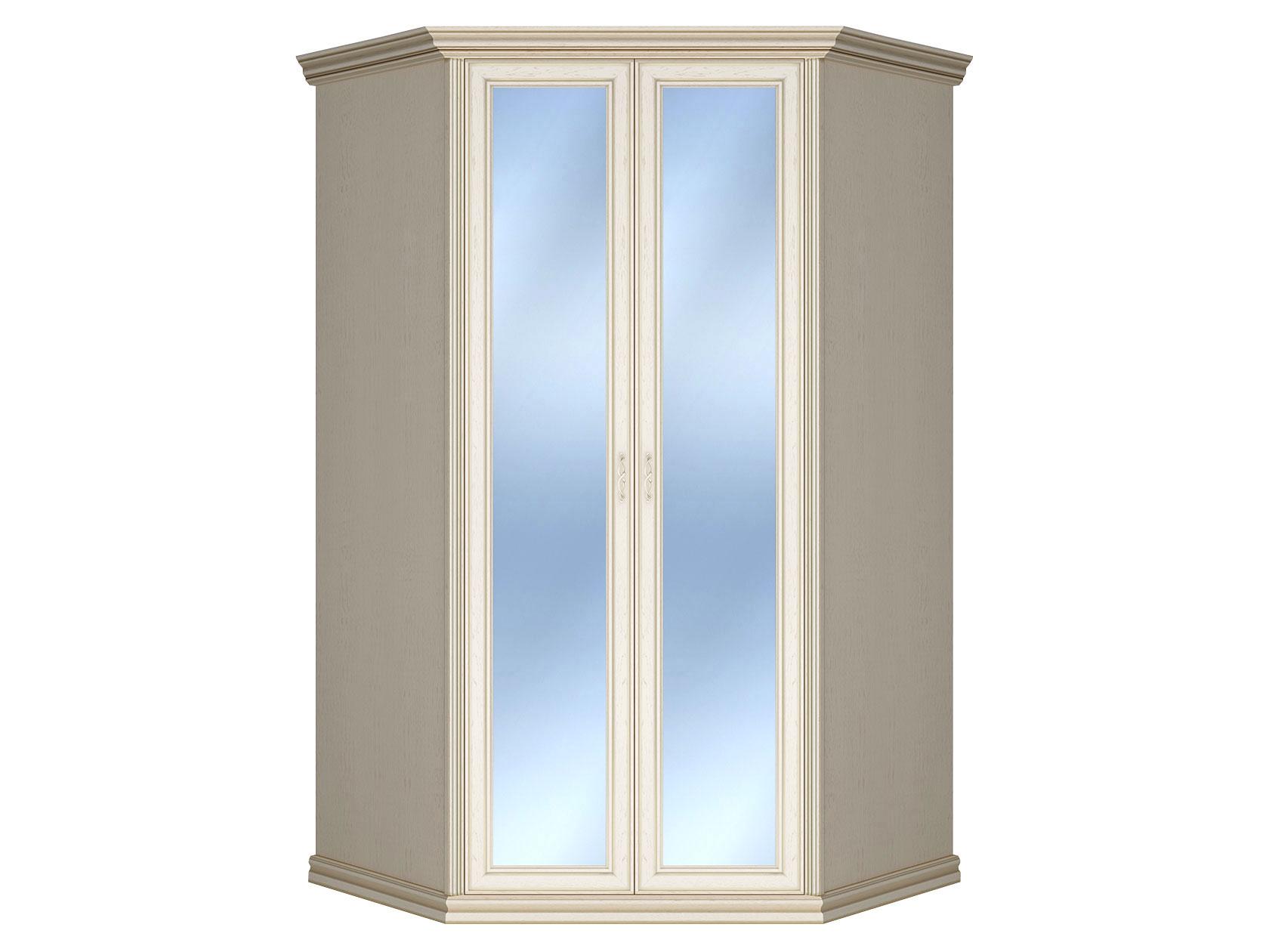 Угловой шкаф с зеркальными створками 150-91448