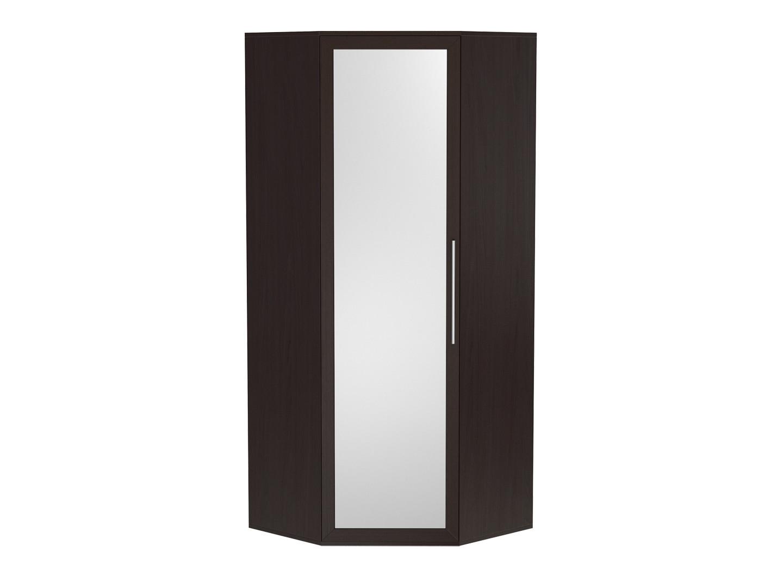 Угловой распашной шкаф с зеркалом 179-67736