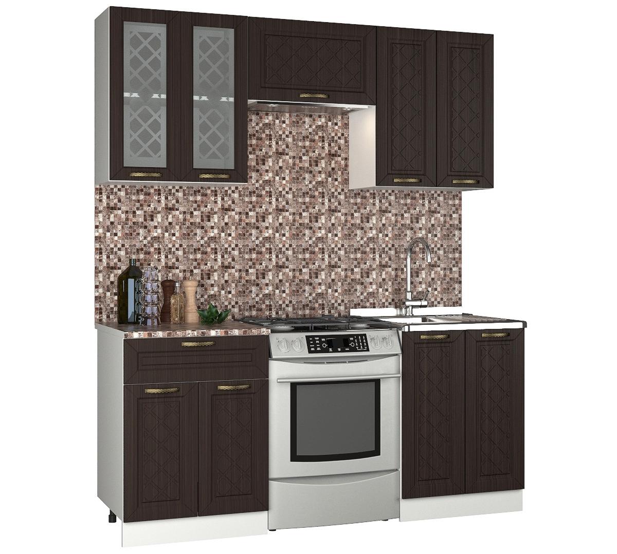 Прямой кухонный гарнитур 150-68910