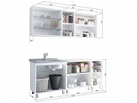 Кухонный гарнитур 500-102886