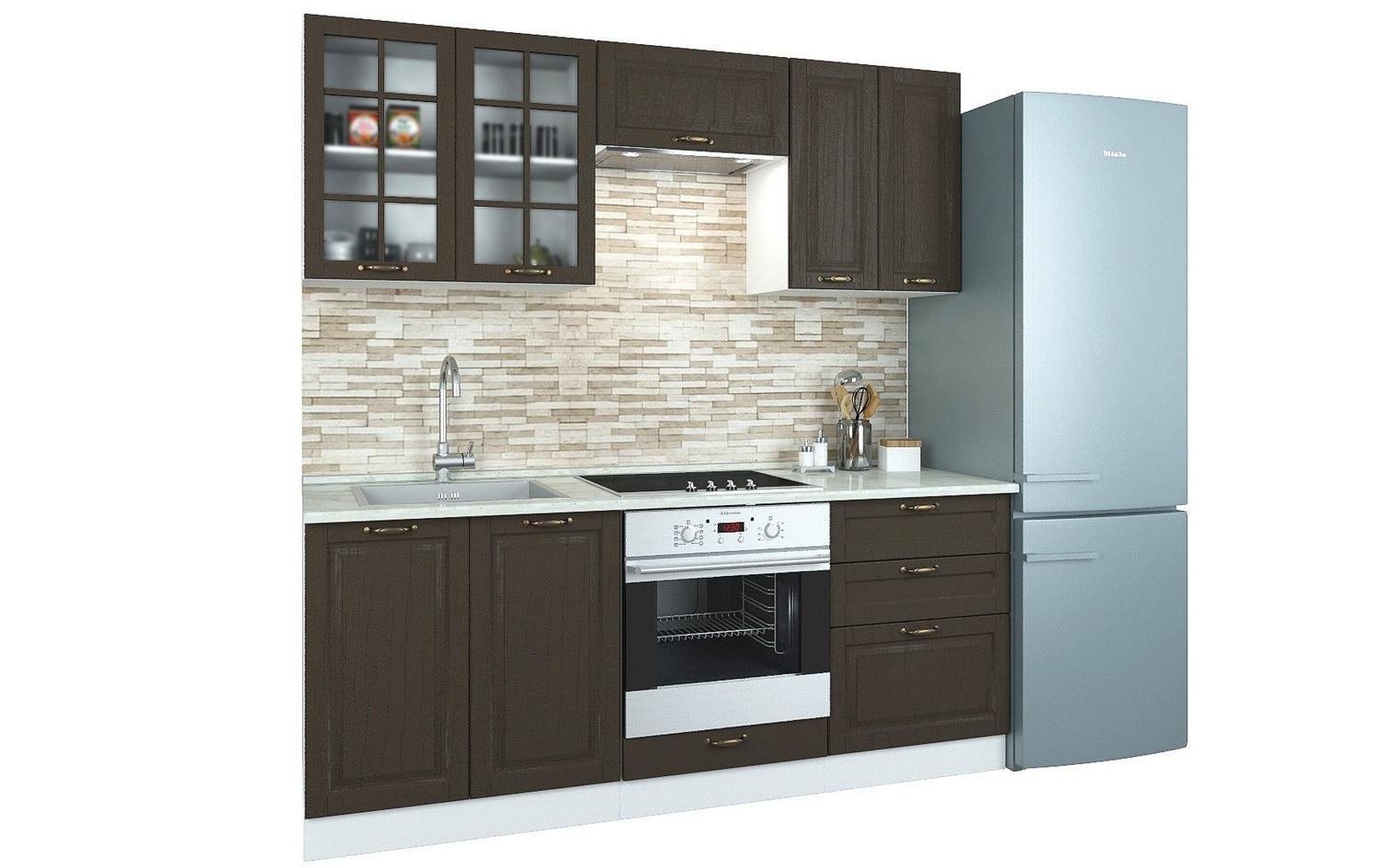 Прямой кухонный гарнитур 108-69087